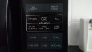 Sharp microwave oven with grill review.
