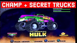 ALL Trucks in Monster Jam Maximum Destruction (2002): PS2, PC, GC