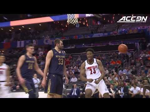 Notre Dame vs. Louisville ACC Basketball Tournament Highlights (2019)