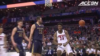 Notre Dame vs. Louisville ACC Basketball Tournament Highlights (2019)