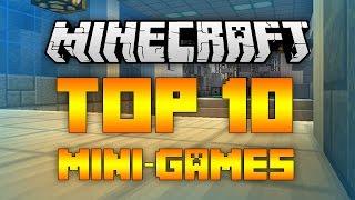 Top 10 Minecraft Server Mini Games (Minecraft 1.12/1.11.2) - 2017 [HD]