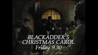 Christmas on BBC1 1988 Blackadder's Christmas Carol