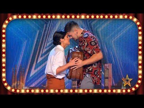 Se Conocieron En CHINA Y Cuentan BAILANDO Su HISTORIA De AMOR | Inéditos | Got Talent España 2019