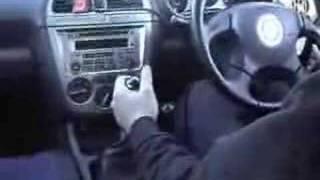 IMPREZA(GDB) シーケンシャルシフター操作映像
