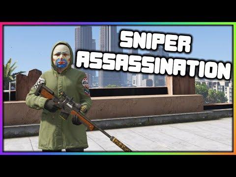 GTA 5 Roleplay - Sniper Assassination | RedlineRP