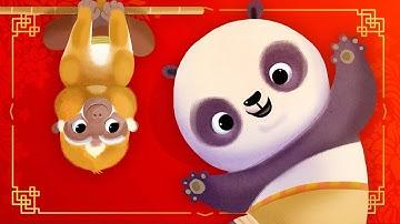 P.A.N.D.A. (BINGO) - Kung Fu Panda | BABY BY DREAMWORKS Nursery Rhymes