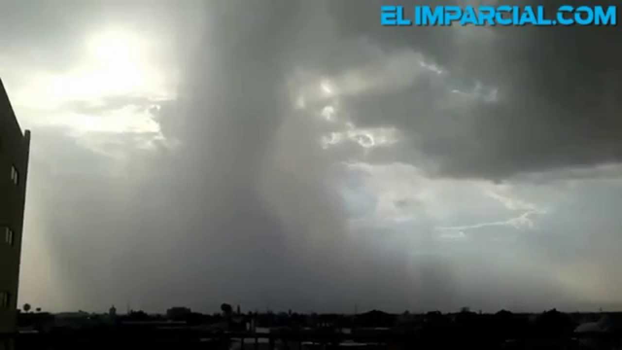 Hoy puede llover en Hermosillo - YouTube