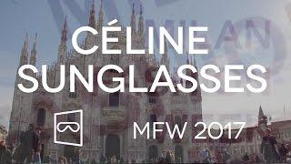 Céline Sunglasses  from Milan Fashion Week 2017 Lindsay Lohan Linda Tol