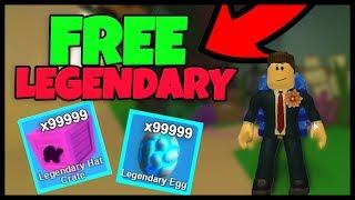 ATLANTIS LEGENDARY CODES (FREE HATS, EGGS) - Roblox Mining Simulator