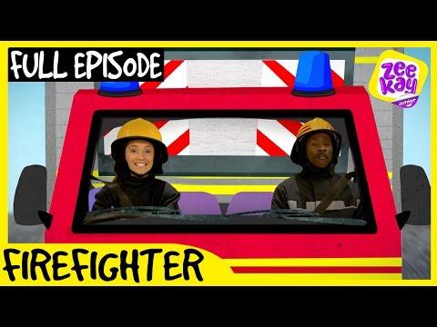 Let's Play: Firefighter! | FULL EPISODE | ZeeKay Junior
