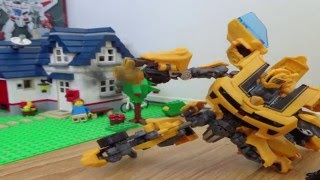 Transformers stop-motion : Bumblebee
