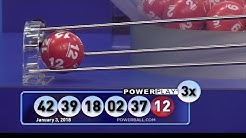 The winning numbers for Powerball