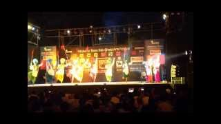 RIFAC INDIA: Bhangra by Rhythm Boys in KALA GHODA ARTS FESTIVAL 2014,(MUMBAI) INDIA