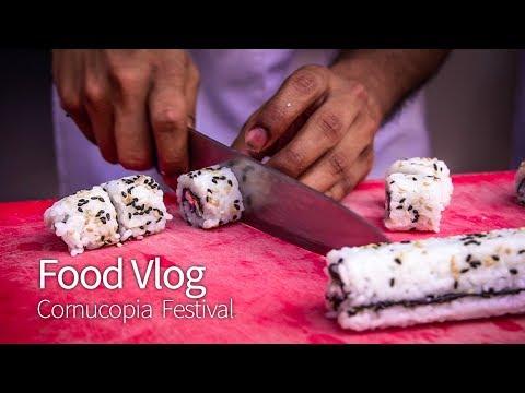Food Vlog: Cornucopia Food Festival 2018