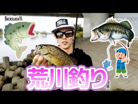 【荒川釣り】埼玉の荒川で釣りをしたら何が釣れるの?【Backslash】