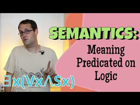 What Makes a Sentence True or False? Predicate Logic
