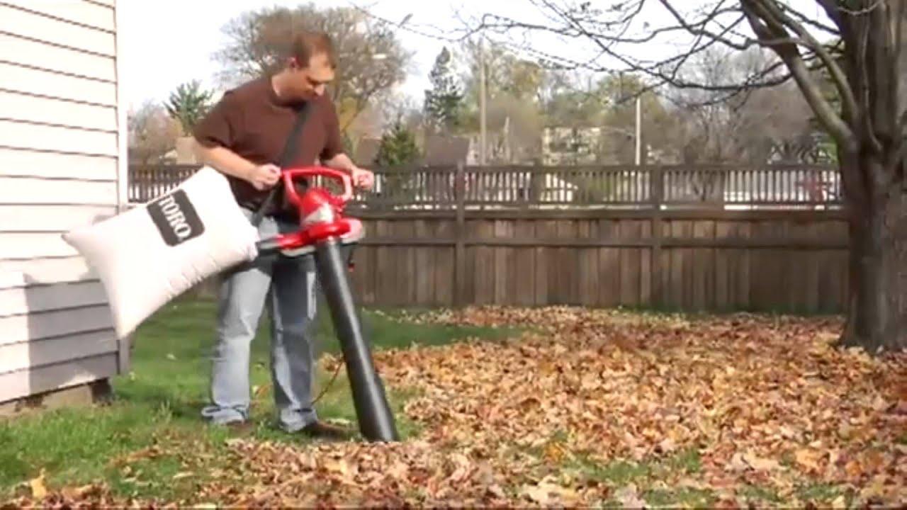 Review Toro 51609 Ultra 12 Amp Electric Blowervacuum With Metal Impeller Youtube