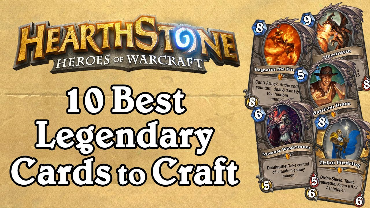 best legendaries to craft the 10 best legendary cards to craft v1 hearthstone 3441