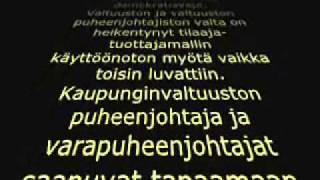 Tampere Wars Episode I: Timo Palpatine Nieminen