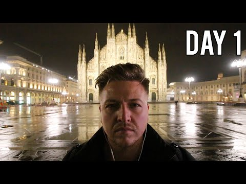 MILAN, ITALY WITH NO MONEY - DAY 1