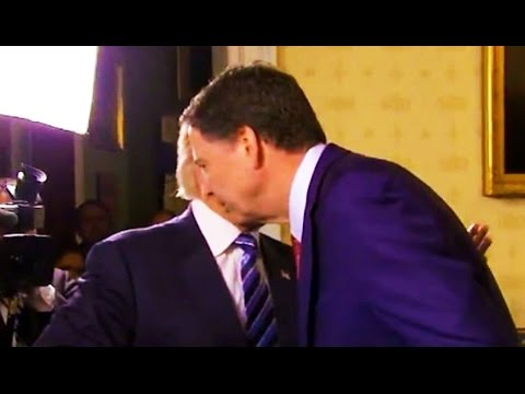 Comey Was 'DISGUSTED' By Hug from Donald Trump, As Most People Would Be