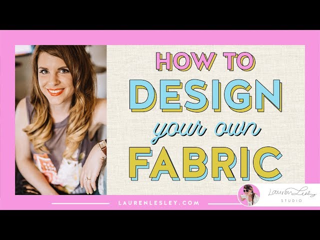 How to Design Your Own Fabric   Step by Step Watercolor