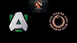 Alliance vs Chaos Esports Club The Chongqing Major Highlights Dota 2