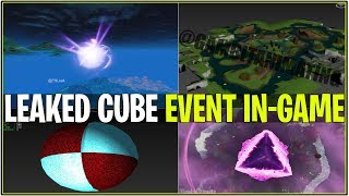 Fortnite: CUBE EVENT LEAKED! (Animations événementielles, Island Aftermath - We CAN'T DIE!)