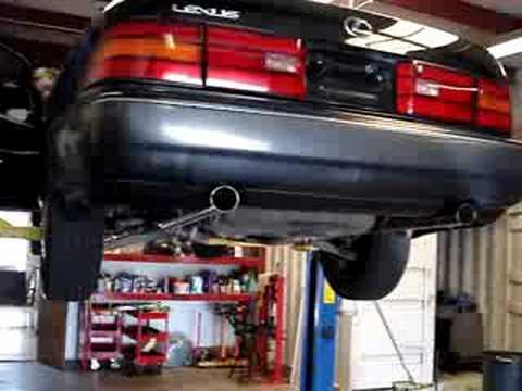 Lexus ls400 exhaust youtube lexus ls400 exhaust publicscrutiny Image collections