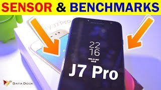 Samsung Galaxy J7 Pro Sensors & Benchmark Test | Data Dock