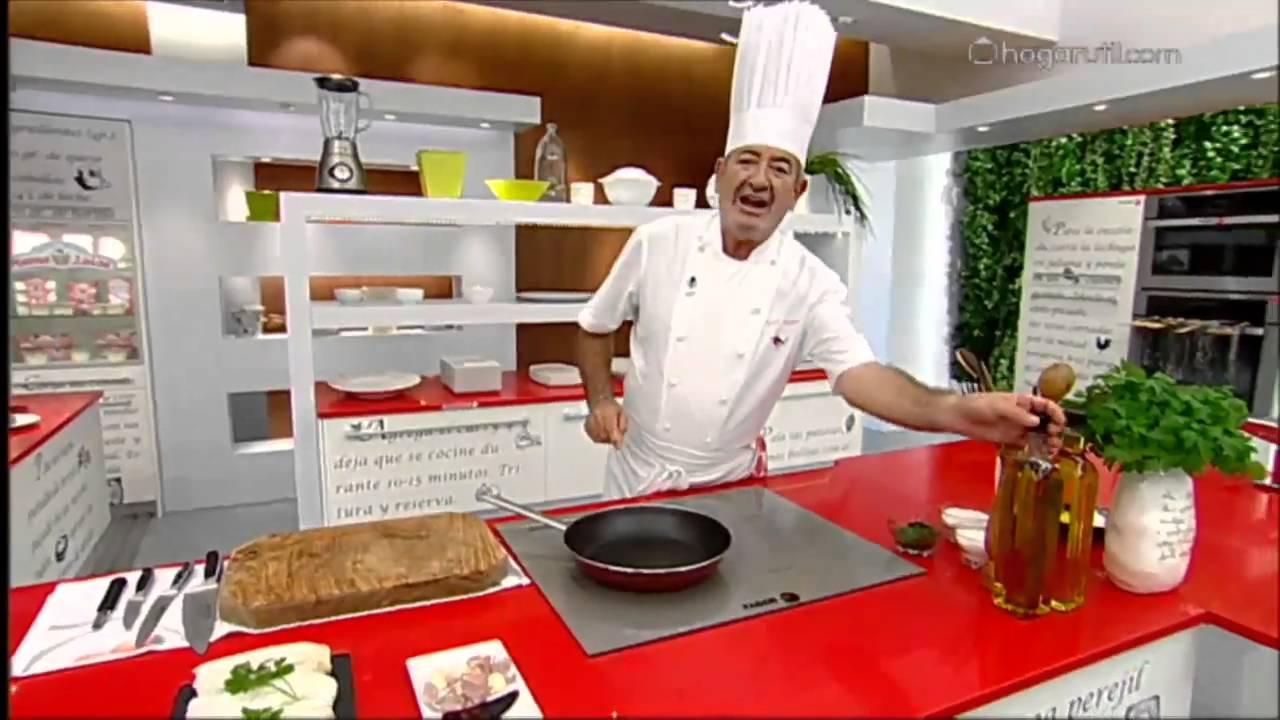 Karlos argui ano en tu cocina bacalao con pasta youtube for Cocina carlos arguinano