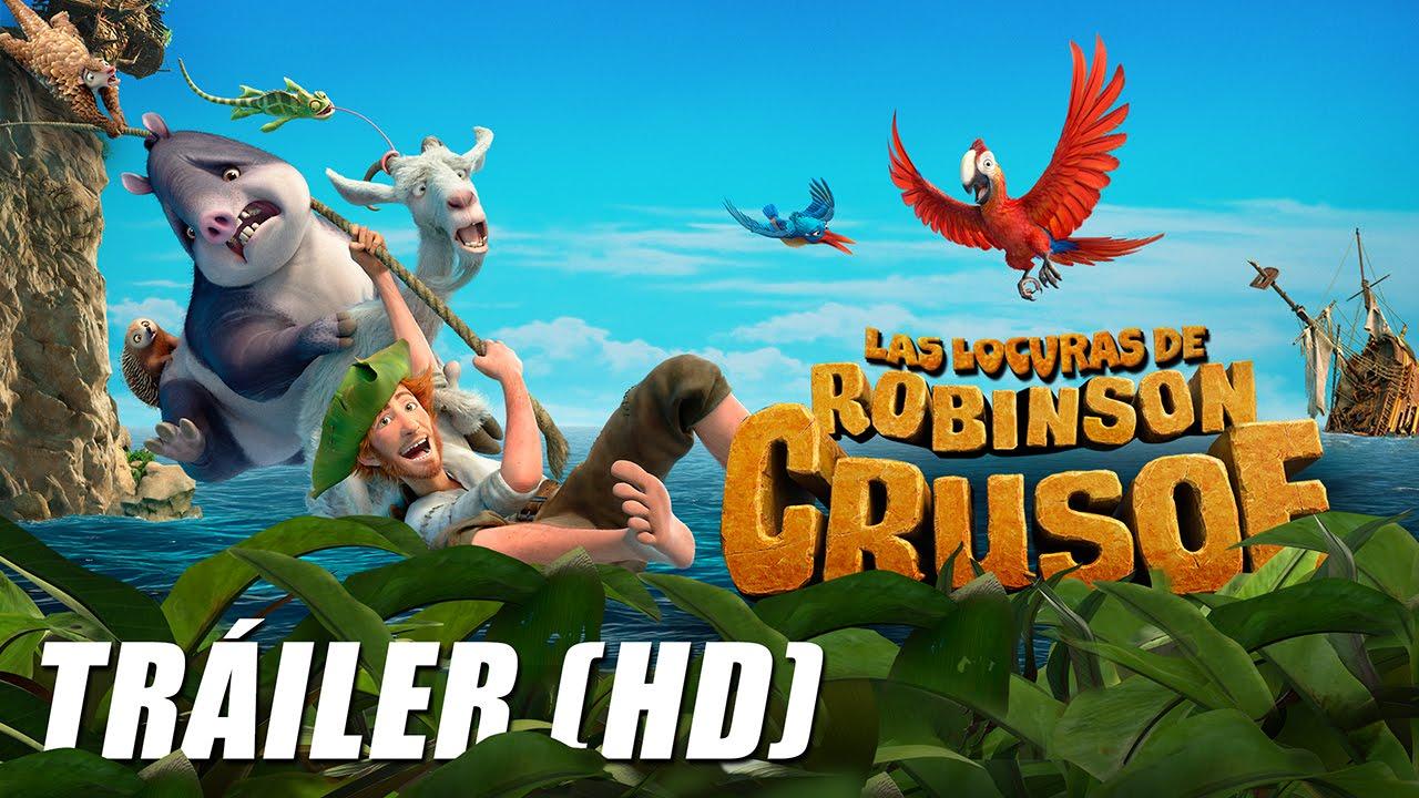 Las Locuras De Robinson Crusoe The Wild Life Trailer