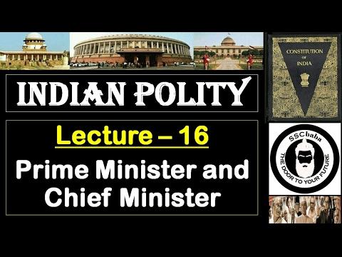 P16 : Prime Minister and Chief Minister || SSC CGL, UPSC, MPPCS, JPSC, UPPCS, CAPF SI/ASI, BPSC ,etc