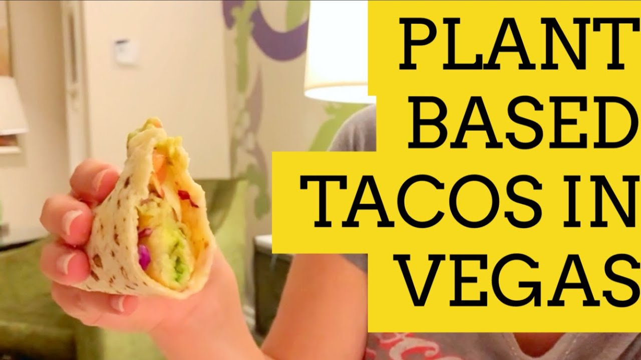 Travel Vlog #1 Part 3 - Las Vegas Reopened (Plant Based Tacos)