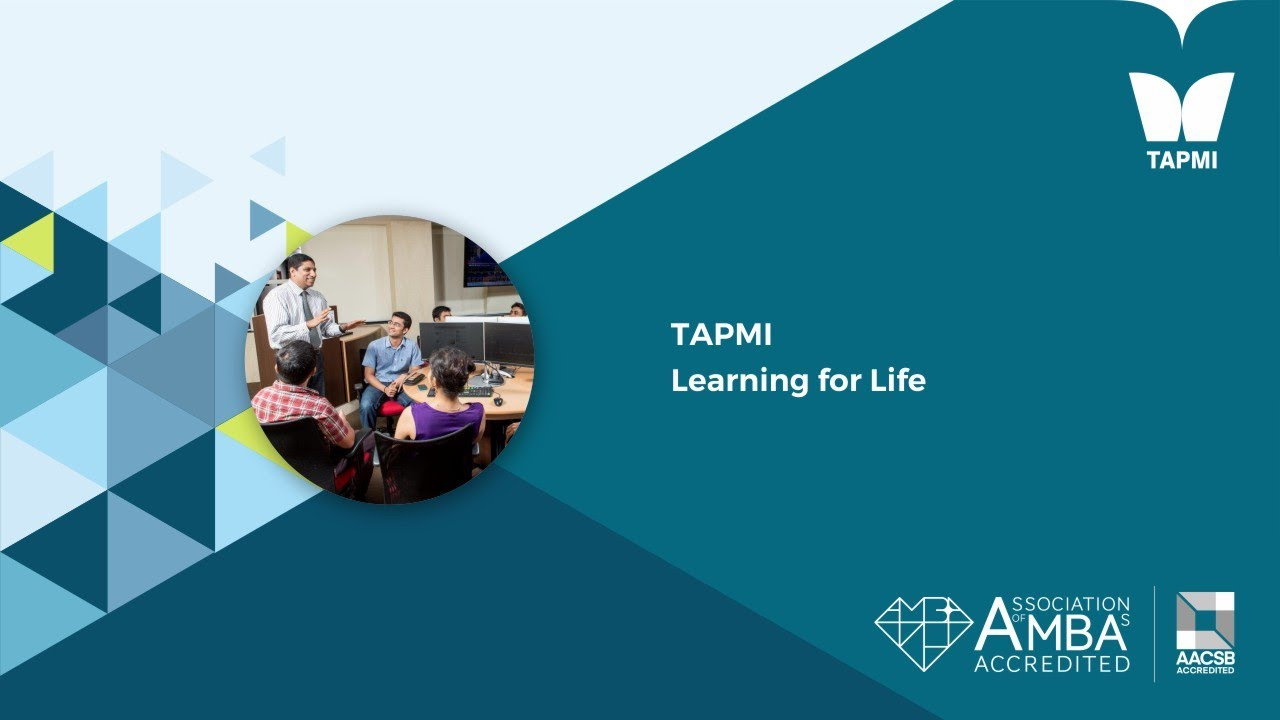 TAPMI Learning for Life.