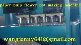 paper pulp flower pot making machine-0086-15153504975