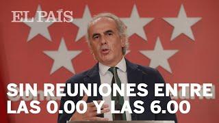 MADRID prohíbe reuniones de no convivientes entre las 00.00 y las 6.00