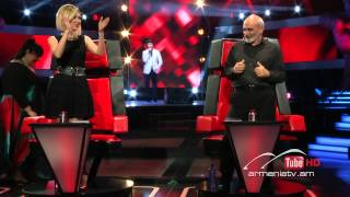 Valera Mairomyan,Virtual Insanity by Jamiroquai - The Voice Of Armenia - Blind Auditions - Season 2