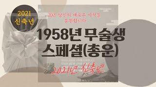 1958년생 무술생 스페셜(2021년 신축년 총운및 보충)