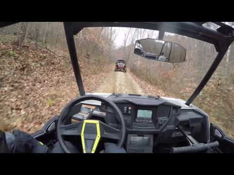 RZR side by side riding