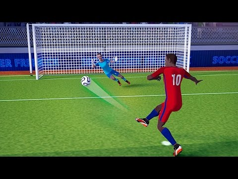 FreeKick Soccer World Champion by Best mobile sport games Android Gameplay HD
