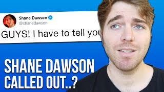 Shane Dawson got CALLED OUT after this…