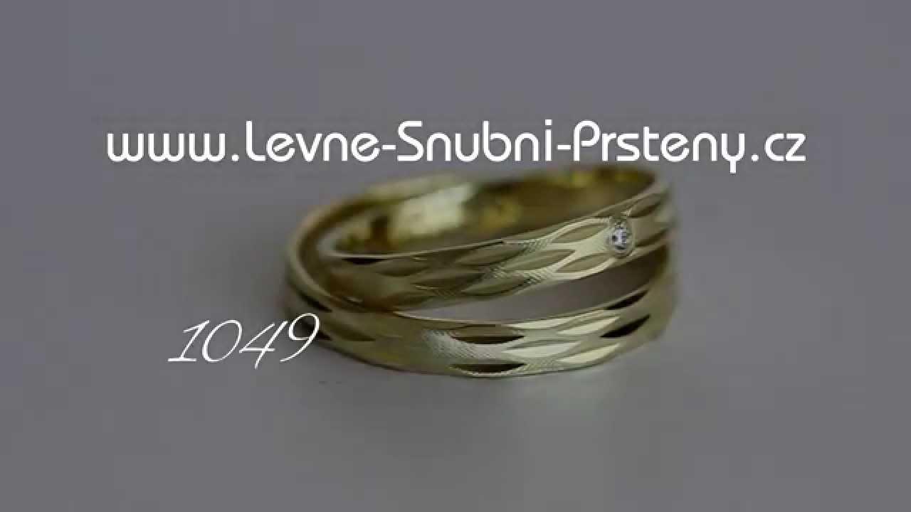 Snubni Prsteny Lsp 1049 Youtube