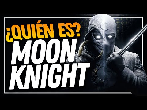 ¡CONÓCELO! ¿Quién es MOON KNIGHT (Caballero Luna)? Origen y todos sus SECRETOS.