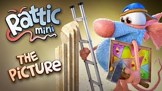 Funny Cartoon | Rattic Mini – The Picture | Cartoons For Children | Funny Animated Cartoon Series