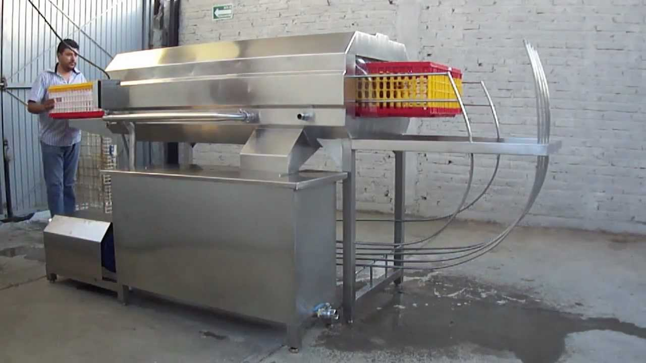Industrias Mac Lavador Cajas Y O Jaulas Para