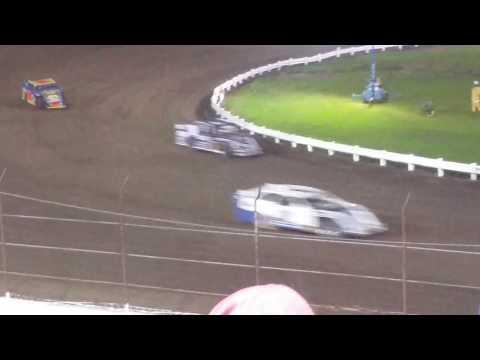 Farley speedway super modified week sport mod heat