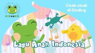 Cicak-cicak Di Dinding | Lagu Anak Indonesia Populer | Kidoong  Kids Doodle And