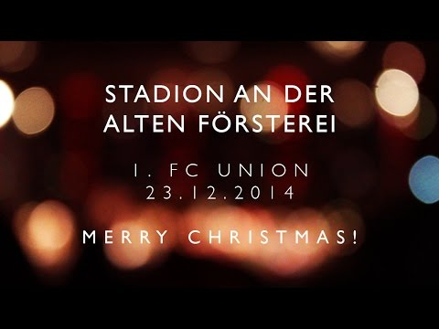 What an atmosphere in Stadion an der Alten Försterei / Weihnachtssingen 2014 / 1.FC Union