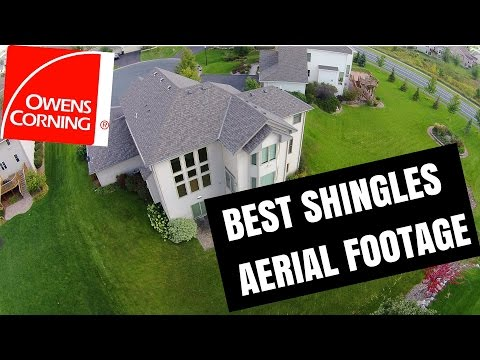 How to choose roofing color: Best aerial footage of Owens Corning Roofing